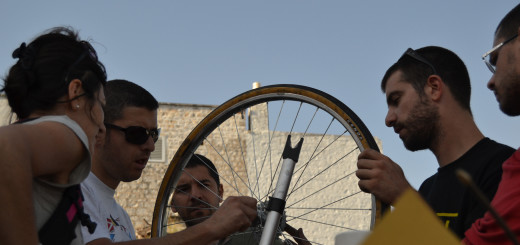 ciclofficina in piazza